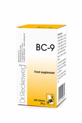 Schuessler BC9 combination cell salt - tissue salt